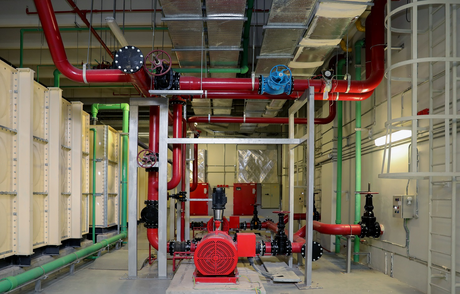 Fire Protection, Alarm and Security Systems