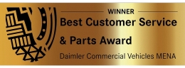 Al Mulla Motors wins Best Customer Service Award at Daimler Commercial Vehicles Middle East & Africa