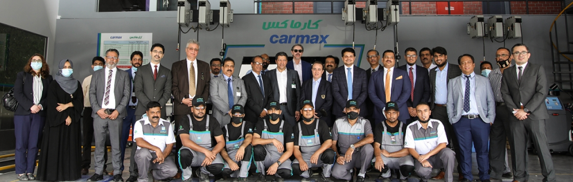 Carmax Al Mulla inaugurates new express service center in Sulaibiya industrial area