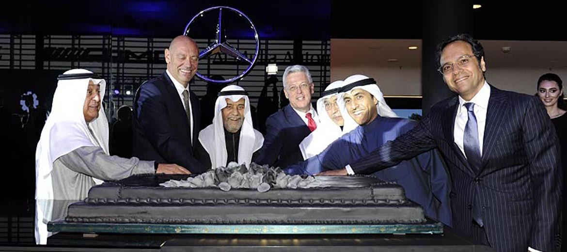 Al Mulla Automobiles Company and Mercedes-Benz Cars Middle East inaugurate Mercedes-Benz Kuwait's showroom operations