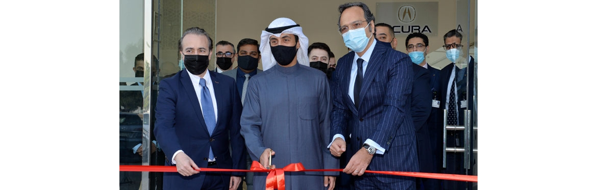 Al Mulla Group Celebrated The Opening of New Showrooms for Acura and Mitsubishi in Kuwait