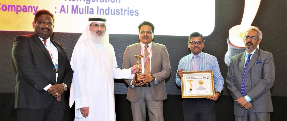 Al Mulla Industries Receives Prestigious Tamilnadu Engineers Forum (TEF) 2019 Gold Award for Engineering Excellence