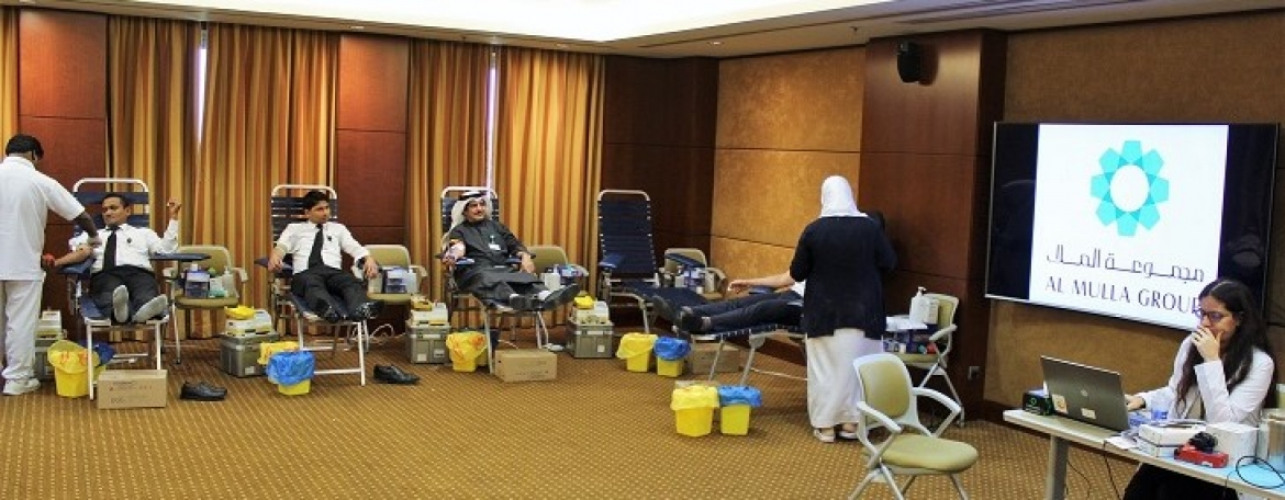 Al Mulla Group Hosts an Open Day for Blood Donation at its Head Office