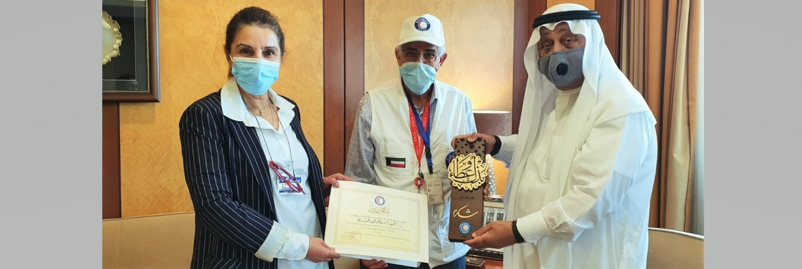 KRCS Recognizes Al Mulla Group for Supporting its Relief Efforts in Kuwait