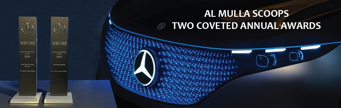 Al Mulla Automobiles received two coveted awards at the annual Mercedes-Benz conference