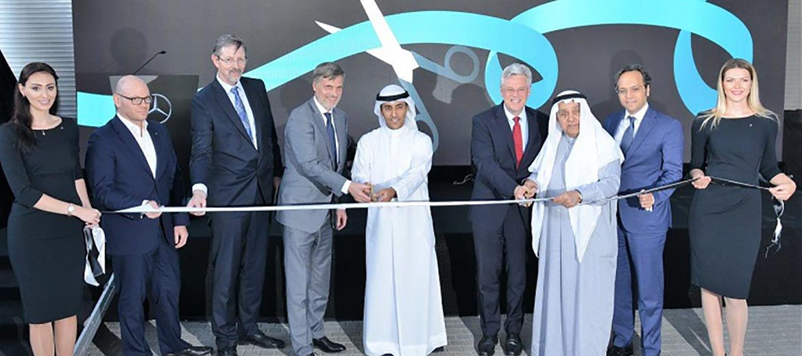 Al Mulla Automobiles and Mercedes-Benz Middle East open the Mercedes-Benz Commercial Showroom in Al-Ahmadi