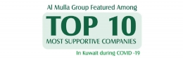 Al Mulla Group Recognized Among the Top 10 Supportive Companies During COVID19 Pandemic